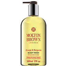 Buy Molton Brown Orange & Bergamot Body Wash, 500ml Online at johnlewis.com