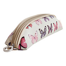 Buy John Lewis Butterfly Print Brush Case Online at johnlewis.com