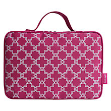 Buy John Lewis Crusader Hanging Washbag, Pink Online at johnlewis.com