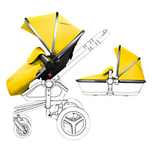 Buy Silver Cross Graphite Surf Set with Free Simplicity Car Seat, Yellow Online at johnlewis.com