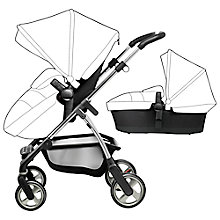 Buy Silver Cross Wayfarer with Chassis, Seat & Carrycot, Graphite Online at johnlewis.com
