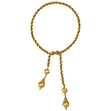 Buy Susan Caplan Vintage 1970s Monet Filigree Lariat Necklace Online at johnlewis.com
