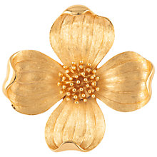 Buy Susan Caplan Vintage 1960s Trifari Little Posy Gold Plated Brooch Online at johnlewis.com
