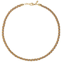 Buy Susan Caplan Vintage Monet Snake Chain Bracelet, Gold/Silver Online at johnlewis.com