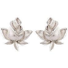 Buy Susan Caplan Vintage 1970s Trifari Rosebud Earrings Online at johnlewis.com