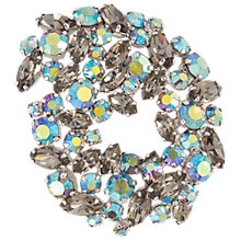 Buy Susan Caplan Vintage 1950s Sherman Smoky Crystal Brooch Online at johnlewis.com