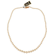 Buy Susan Caplan Vintage 1960s Vintage Hobé Graduated Faux Pearl Necklace Online at johnlewis.com