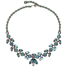 Buy Susan Caplan Vintage 1950s Regency Crystal Silver Plated Necklace Online at johnlewis.com