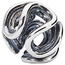 Buy Trollbeads Sterling Silver Path Of Life Bead, Silver Online at johnlewis.com