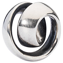 Buy Trollbeads Never-Ending Sterling Silver Charm Online at johnlewis.com