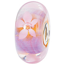 Buy Trollbeads Glass Sea Anemone Charm, Pink Online at johnlewis.com