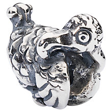 Buy Trollbeads Sterling Silver Dodo Bead, Silver Online at johnlewis.com