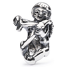 Buy Trollbeads Sterling Silver Cupid Bead, Silver Online at johnlewis.com