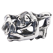 Buy Trollbeads Sterling Silver Climbing Frog Bead, Silver Online at johnlewis.com