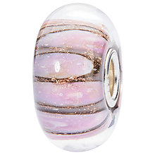 Buy Trollbeads Glass Conch Charm, Pink Online at johnlewis.com