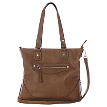 Buy Oasis Sandy Satchel Bag, Tan Online at johnlewis.com