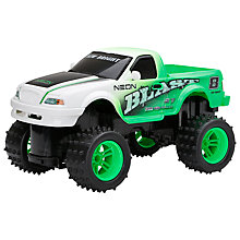 Buy New Bright Radio Controlled Neon Blast Pick-Up Truck Online at johnlewis.com