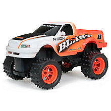 Buy New Bright Radio Controlled Neon Blast Pick-Up Truck, Assorted Online at johnlewis.com