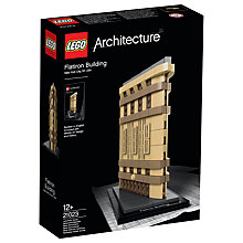Buy LEGO Architecture 21023 Flatiron Building Online at johnlewis.com