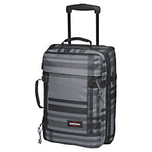 Buy Eastpak Tranverz 2-Wheel Extra Small Cabin Suitcase, Grey Online at johnlewis.com