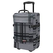 Buy Eastpak Tranverz 2-Wheel Small Cabin Suitcase, Grey Online at johnlewis.com