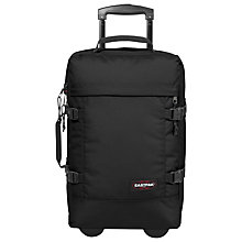 Buy Eastpak Tranverz 49cm 2-Wheel Cabin Suitcase, Black Online at johnlewis.com