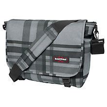 Buy Eastpak Extragate Checkci Shoulder Bag, Grey Online at johnlewis.com