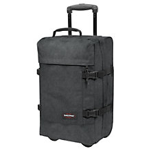 Buy Eastpak Transverz 2-Wheel Small Suitcase, Black Denim Online at johnlewis.com
