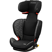 Buy Maxi-Cosi RodiFix Group 2/3 Car Seat, Digital Black Online at johnlewis.com