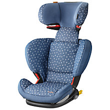 Buy Maxi-Cosi RodiFix Car Seat, Denim Heart Online at johnlewis.com