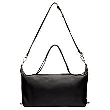Buy Whistles Thurloe Bowling Bag, Black Online at johnlewis.com