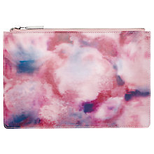 Buy Whistles Small Clutch Bag, Pale Pink Online at johnlewis.com