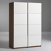 House by John Lewis Mix it Bedroom Range, Gloss White/Natural Oak