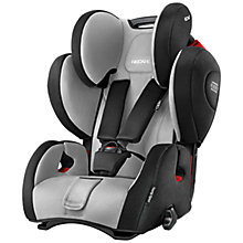 Buy Recaro Young Sport Hero Group 1/2/3 Car Seat, Graphite Online at johnlewis.com