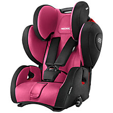 Buy Recaro Young Sport Hero Group 1/2/3 Car Seat, Pink Online at johnlewis.com