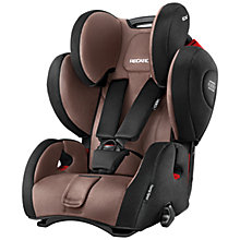Buy Recaro Young Sport Hero Group 1/2/3 Car Seat, Mocca Online at johnlewis.com