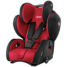 Buy Recaro Young Sport Hero Group 1/2/3 Car Seat, Ruby Online at johnlewis.com