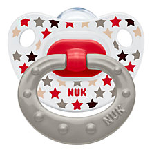 Buy NUK Happy Days Size 1 Soother, Pack of 2, Multi Online at johnlewis.com