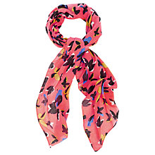 Buy Oasis Bold Butterfly Print Scarf, Multi Online at johnlewis.com