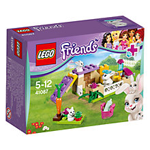 Buy LEGO Friends Bunnies & Babies Online at johnlewis.com