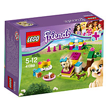 Buy LEGO Friends Puppy Training Online at johnlewis.com
