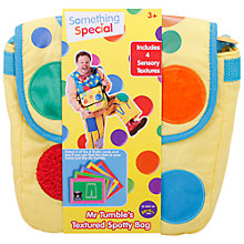 Buy Mr Tumble's Textured Spotty Bag Online at johnlewis.com