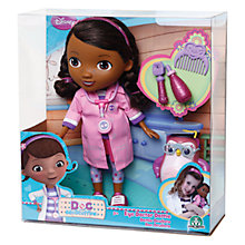 Buy Doc McStuffins Eye Doctor Dottie Doll & Accessories Online at johnlewis.com