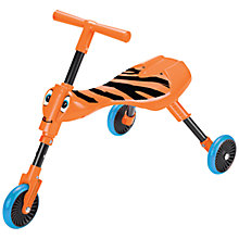 Buy Mookie Toys Scuttlebug Trike, Tiger Online at johnlewis.com