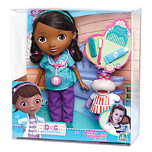 Buy Doc McStuffins Dentist Dottie Doll & Accessories Online at johnlewis.com
