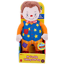 Buy Mr Tumble Talking Soft Toy Online at johnlewis.com