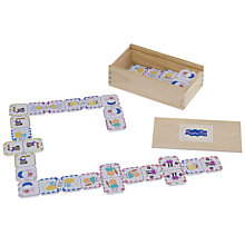 Buy Peppa Pig Glitter Wooden Dominoes Online at johnlewis.com
