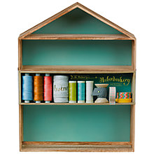 Buy The Makery Haberdashery House, Brown Online at johnlewis.com