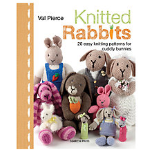 Buy Knitted Rabbits by Val Pierce Knitting Book Online at johnlewis.com