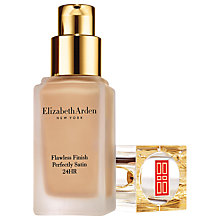 Buy Elizabeth Arden Flawless Finish Perfectly Satin 24 Hour Makeup SPF30, 30ml Online at johnlewis.com